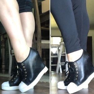 L.A.M.B. Wedge Sneakers